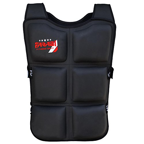 Farabi-Adjustable-Weighted-Vest-Crossfit-Fitness-Weight-Jacket-Training-Workout-Excercise-15-Kg