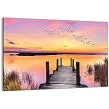 Cuadro sobre lienzo - de una sola pieza - Impresión en lienzo - Ancho: 100cm, Altura: 70cm - Foto número 3056 - listo para colgar - en un marco - AA100x70-3056
