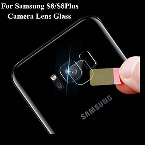 TrueUpgrade Rear Camera Tempered Glass Soft 8H Flexible Fiber Protective Film Compatible With Samsung Galaxy S8 / S8 Plus