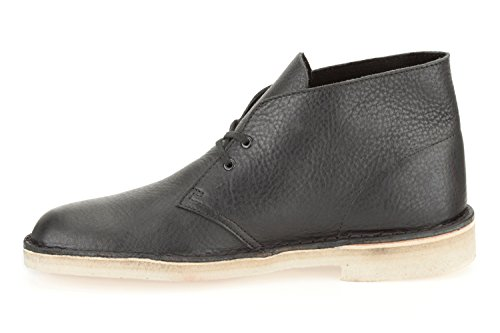 Clarks Originals Desert, Boots homme Noir