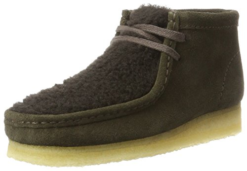 Clarks Originals Damen Wallabee Boot. Stiefel, Braun (Peat Suede), 39 EU (Stiefel Mens Casual Clarks)
