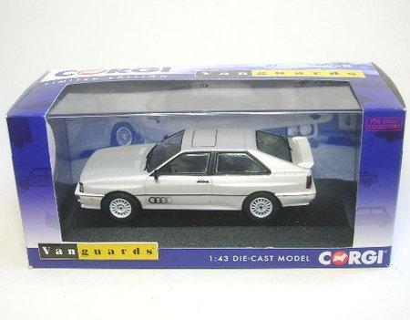 Preisvergleich Produktbild Audi Quattro MKII (weiss) 1987 (LHD)