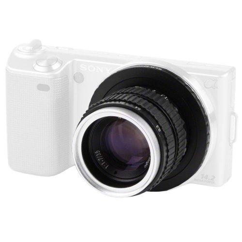 SLR Magic 35 mm 1:1,7 Objektiv für Sony NEX (E-Mount) (manueller Fokus, für APS-C Sensor gerechnet, IF, mit Gegenlichtblende, inkl. Schutzdeckel) (E-mount Slr Magic)