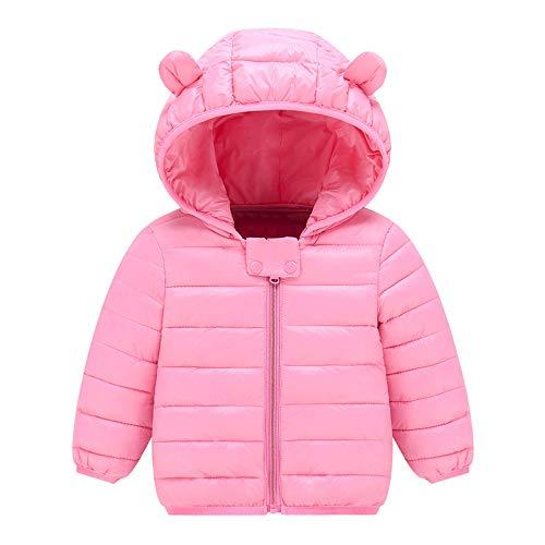509da70cda980 Manadlian Manteau Hiver pour Bébé Garçon Filles Veste à Capuche Blouson  Epaisse Chaud Hoodies Zipper Oreilles