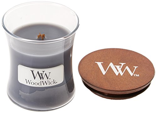 WoodWick Candle Shop Spain Vela con Fraganica de Evening Onyx, Cera, Gris, 7.1x7.0x7.8 cm