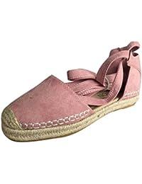2018 Verano Sandalias y Chanclas, WINWINTOM Zapatillas de Estar por Casa, Mujer Plano Con Cordones Alpargatas Verano Fornido Fiesta Sandalias Zapatos Tira Zapatos