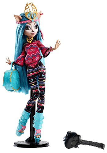 Image of Monster High Toy - Isi Dawndancer Deluxe Fashion Doll - Daughter of a Deer Spirit - Brand-Boo Students