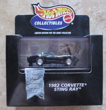 Hot Wheels 100{ae1ee495584533b98a957035772f231db6e6452add7a2156cb2217bad93d4c1c} 1982 Corvette Sting Ray