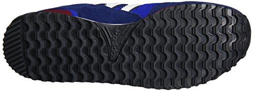 adidas Herren Zx 750 Sneaker Low Hals Blau (Collegiate Royal/ftwr White/dark Blue)