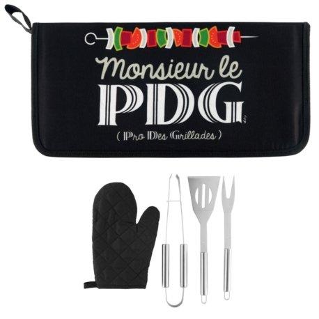 Le Kit d'accessoires Barbecue Mr le Pdg