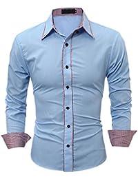 collo T it camicie polo shirt Camicia diplomatico Amazon e qAEWwzIfI