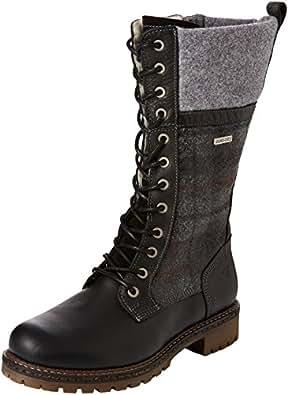 tamaris women 39 s 26431 combat boots shoes bags. Black Bedroom Furniture Sets. Home Design Ideas