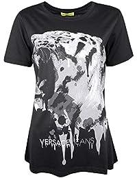 Versace Jeans T-Shirt Art Black - B2HOA7A2   Art Black - Size 40 ( 4f86c44fd87
