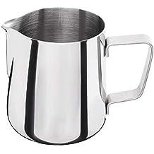 Edelstahl Milchkanne Milch Kanne 0,35 Liter Barista Milchschaum Kaffeesahne