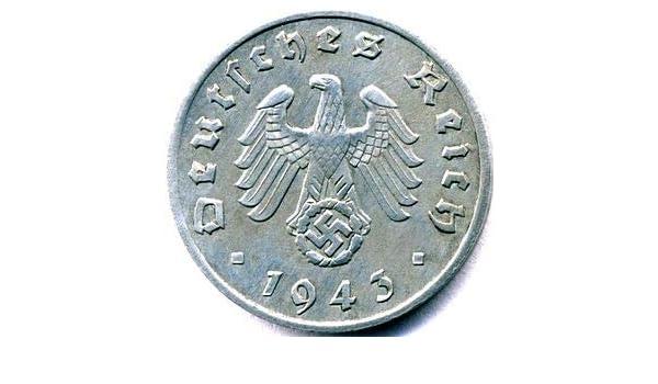 1940 A Germany 5 Pfennig Zinc WWII Coin