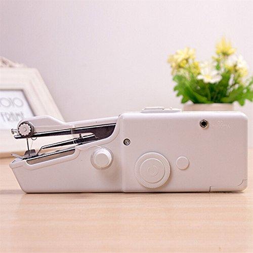 Foto de xiangshang shangmao Máquina de coser manual casera elegante portátil mini de la puntada eléctrica del sastre