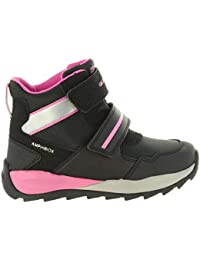 Geox Orizont Girl A, Chaussures avec Fermeture Velcro Fille
