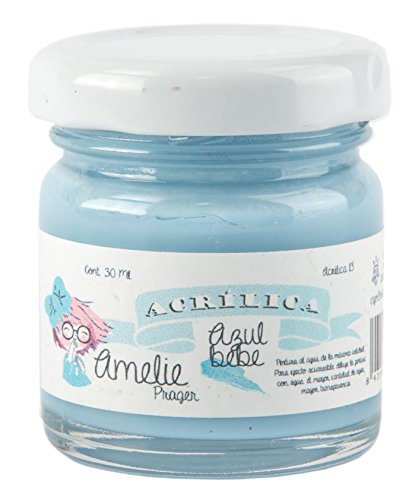 Amelie Prager AMA-15 Pintura Acrílica, Azul Real, 30 ml