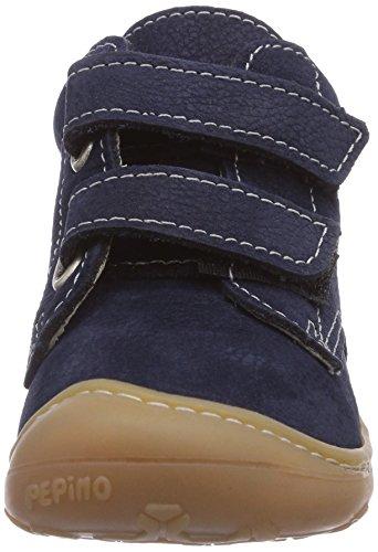 Ricosta Chrisy, Chaussures bateau mixte enfant Bleu - Blau (see 171)
