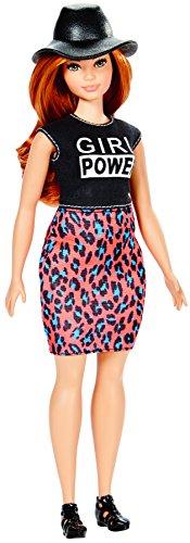 Barbie - Barbie Fashionista Falda Estampado Felino (Mattel DYY94)