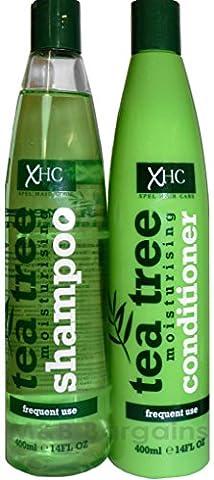 xhc Arbre à thé Shampooing + Revitalisant hydratant de 400ml