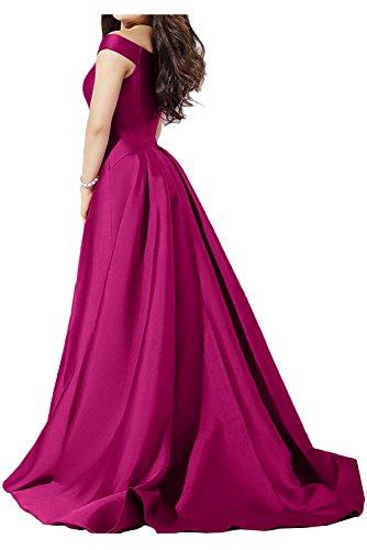 Ivydressing - Robe - Trapèze - Femme Rouge