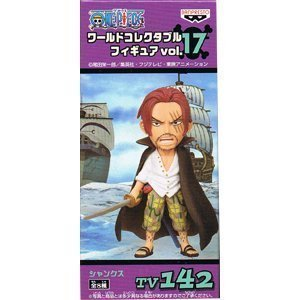 ONE PIECE One Piece World Collectable Figure vol.17 TV142 Shanks (japan import)
