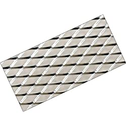 G92 - PLATE Alu Mesh Race malla Raza parrilla de malla Rejilla de aluminio para coche para el parachoques, spoiler, rejilla de ventilación