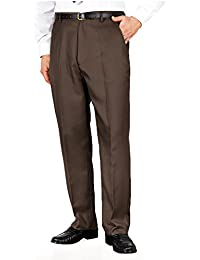 73f21361 Mens Quality Formal Smart Casual Work Trouser Pants Home/Office