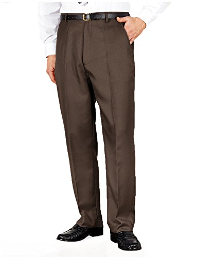 mens-quality-formal-smart-casual-work-trousers-home-office-brown-40x31