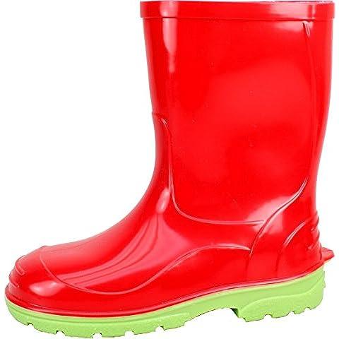 BOCKSTIEGEL® JENS Bambini - Stivali di gomma alla moda (Taglie: 21-33)