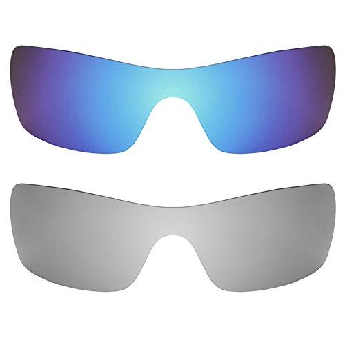 Preisvergleich Produktbild Revant Ersatzlinsen für Oakley Batwolf Polarisiert 2 Paar Kombipack K004
