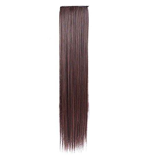 Babysbreath Langes gerades Haar-Verlängerungs-Klipp-Pferdeschwanz-Haar für Dame-Haar-Stück (Menos Mas Kostüm Y)