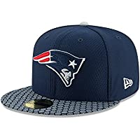 huge selection of 1f848 60cb8 New Era Men Caps Fitted Cap NFL On Field New Endland Patriots 59Fifty