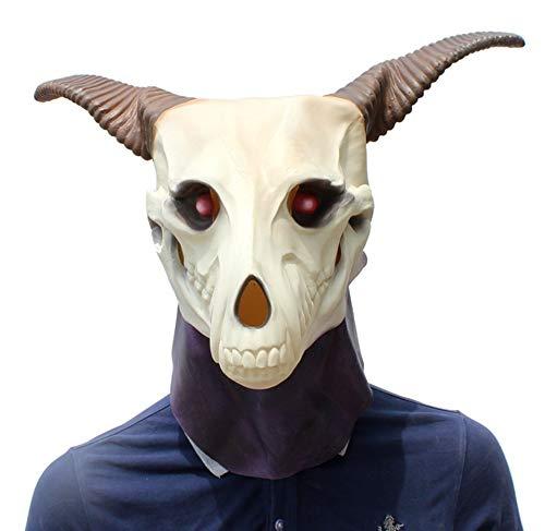 MIANJU Schafe Kopf Maske Halloween Party Kostüm Dekorationen