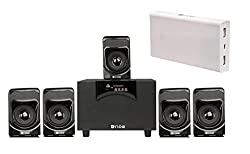 Flow Rok-Box 5.1 Home Theater Multimedia Bluetooth Speaker System Fully Loaded with Powerfull 13000mAh Power Bank