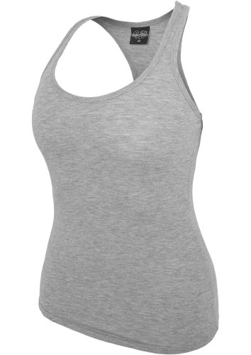 Urban Classics Ladies Jersey White Grey