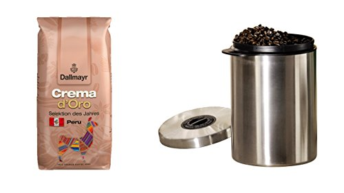 Dallmayr Kaffee Crema d´Oro Selektion des Jahres 1000g Kaffeebohnen, 1er Pack (1 x 1000 g) +...
