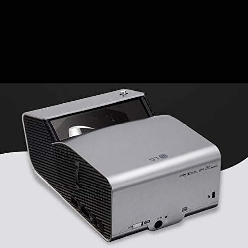 leader DLP HD Ultra-Kurzdistanzprojektor, tragbarer Projektor für den gewerblichen Einsatz, schirmloser 3D-Fernseher, 40-90 Zoll, Trapezkorrektur bei 40 Grad, drahtloses Bluetooth, 2,3 kg