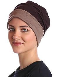 Bonnet Réversible Coiffe pour Perte de Cheveux, Cancer, Chimio