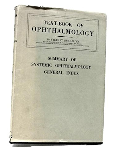 Textbook of Opthalmology. Vol VII