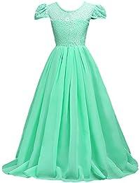 558e7dad1e10 Amazon.co.uk  Turquoise - Dresses   Girls  Clothing