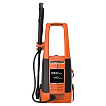 Hoover Power Wash Car Pressure Washer 5.5 kg, HPW2C-ME, Orange