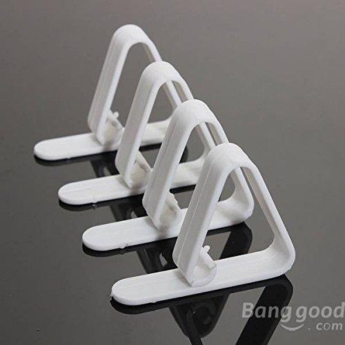 Preisvergleich Produktbild Saver 4pcs Plastiktischdecke Schreibtisch Rock Clip Wedding Party Picknick Clamp