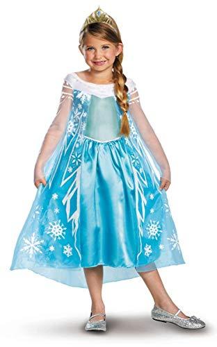 Disney Eisprinzssin Frozen Elsa Kostüm Größe ()