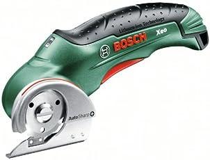 Bosch DIY Akku-Universalschneider Xeo, Ladegerät für Karton und Teppich (3,6 V, max. Schnittstärke 6mm)