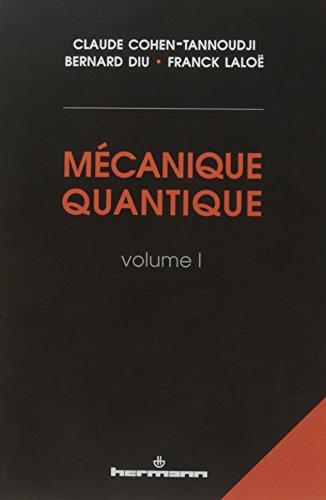 Mécanique quantique I