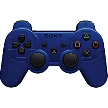 Import USA - Mando DualShock 3 Wireless, Color Azul Metálico (PS3)
