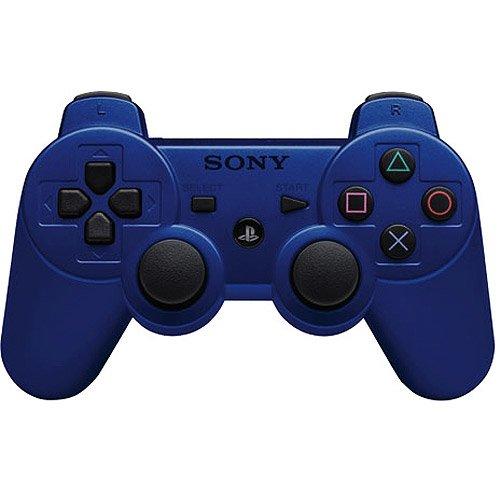 Import USA - Mando DualShock 3 Wireless, Color Azul Metálico (PS3)