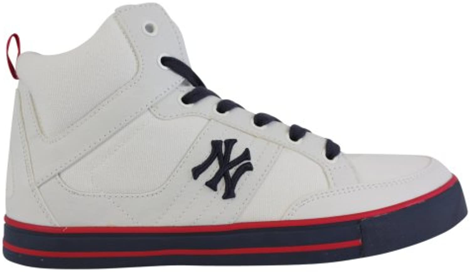 New York Yankees Herren Sneaker   Man Shoes   Schuhe   H13MN07   Weiss   Gr. 42